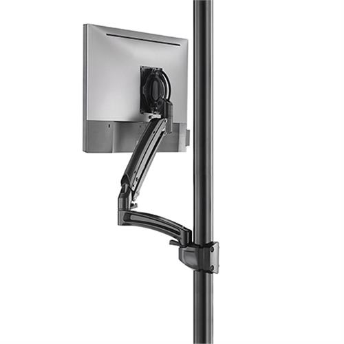 View a larger image of the Chief Kontour Dynamic Pole Mount Reduced Height, 1 Monitor, BLK, K1P120BXRH.