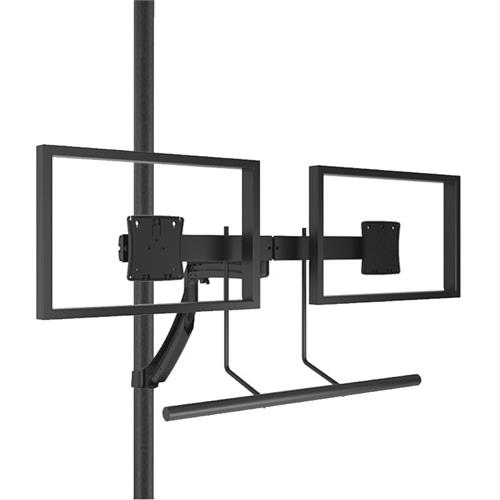 View a larger image of the Chief K1P22HB Kontour Dual Screen Array Dynamic Pole Mount.