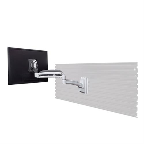 View a larger image of the Chief K1S120W White Kontour Single Screen Dynamic Slat Wall Mount.