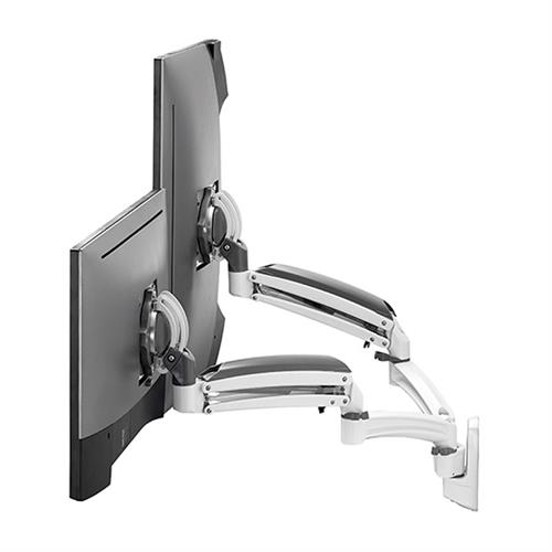 View a larger image of the Chief K1W220WXRH Kontour Reduced Height Dual Screen Dynamic Wall Mount.
