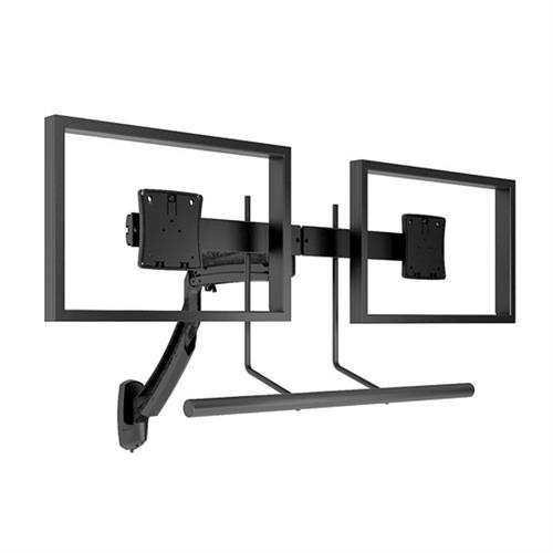 View a larger image of the Chief K1W22HB Kontour Dual Screen Array Dynamic Wall Mount.