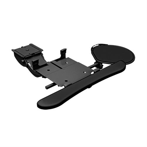 View a larger image of the Chief KBD-MINI-19C Mini Arm Keyboard Clamp (Swivel Mouse Tray).