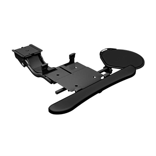 View a larger image of the Chief KBD-S2S-19C Sit Stand Arm Keyboard Clamp (Swivel Mouse Tray).