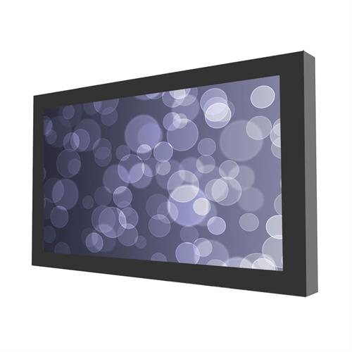 "View a larger image of the Peerless KIL640 Black Indoor Landscape Wall Kiosk Enclosure for 40"" Screens."