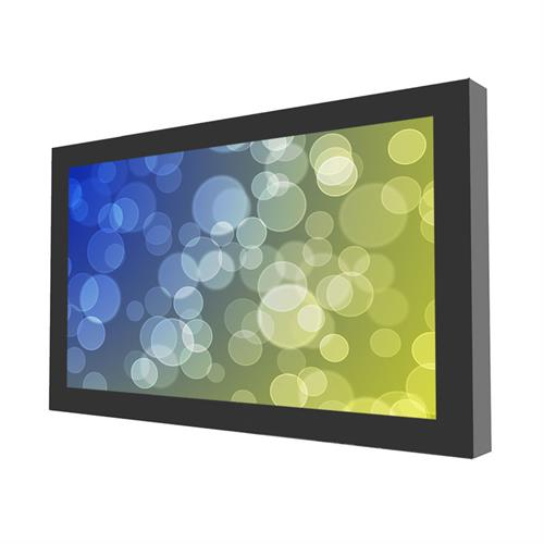 "View a larger image of the Peerless KIL649-35D Black Indoor 49"" On-Wall Landscape Kiosk."