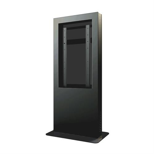 "View a larger image of the Peerless KIP540 Black Indoor Portrait Kiosk Enclosure for 40"" Screens."