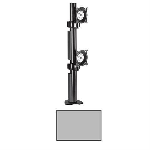 View a larger image of the Chief KTC230S K-Series Vertical 1X2 Desk Clamp Mount.