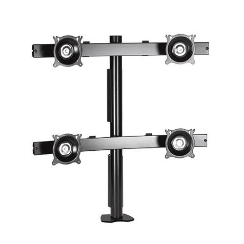 View a larger image of the Chief KTC440B K-Series 2X2 Desk Clamp Mount.