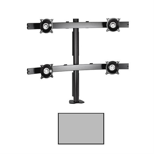 View a larger image of the Chief KTC445S K-Series Widescreen 2X2 Desk Clamp Mount.