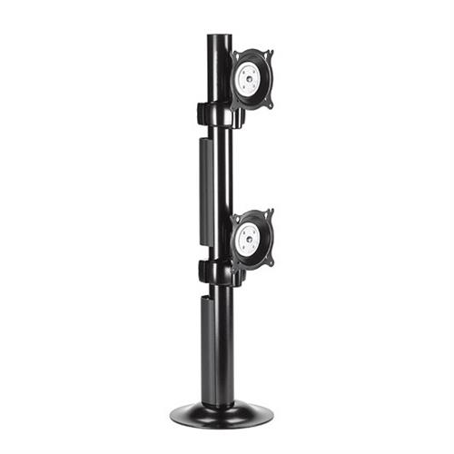 View a larger image of the Chief KTG230B K-Series Vertical 1X2 Desk Grommet Mount.