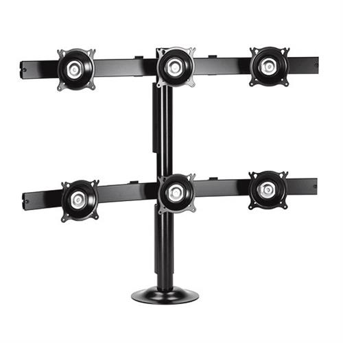 View a larger image of the Chief KTG330B K-Series 3X2 Desk Grommet Mount.