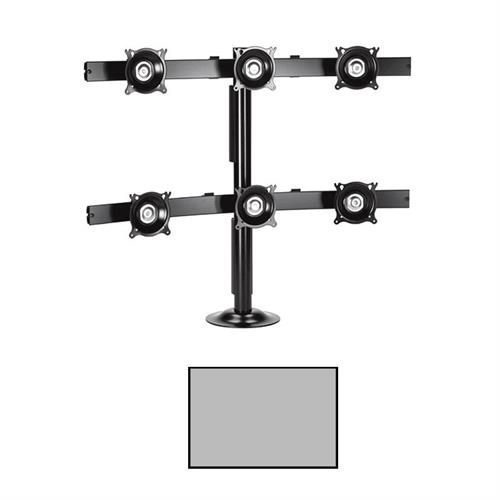 View a larger image of the Chief KTG330S K-Series 3X2 Desk Grommet Mount.