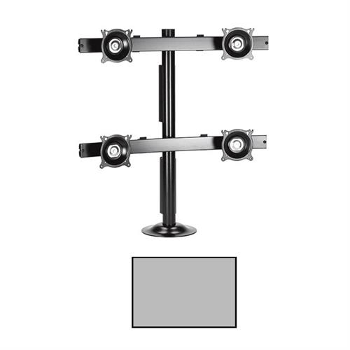 View a larger image of the Chief KTG445S K-Series Widescreen 2X2 Desk Grommet Mount.