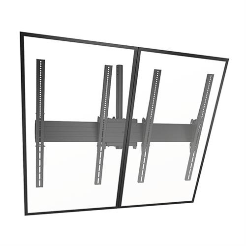 View a larger image of the Chief LCM2X1UP FUSION Large 2x1 Portrait Menu Board Ceiling Mount.
