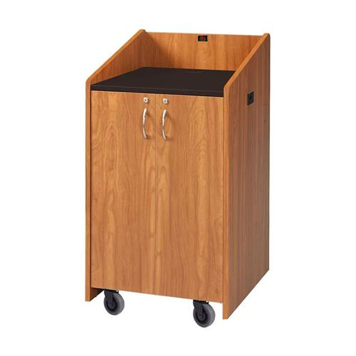 View a larger image of the Audio Visual Furniture LE3050-MC Clearance Medium Cherry Lectern.