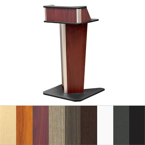 View a larger image of Audio Visual Furniture LE4001 V Shaped Lectern.