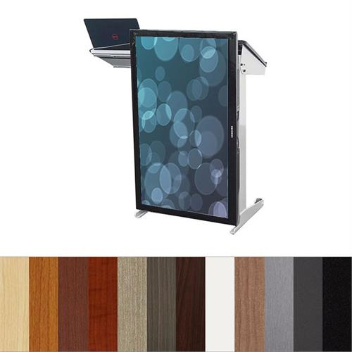 View a larger image of the Audio Visual Furniture LETV4250 TV Presentation Lectern.