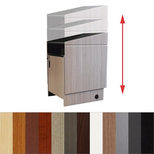 View a larger image of Audio Visual Furniture LEXYZ34 Electric Lift Lectern.