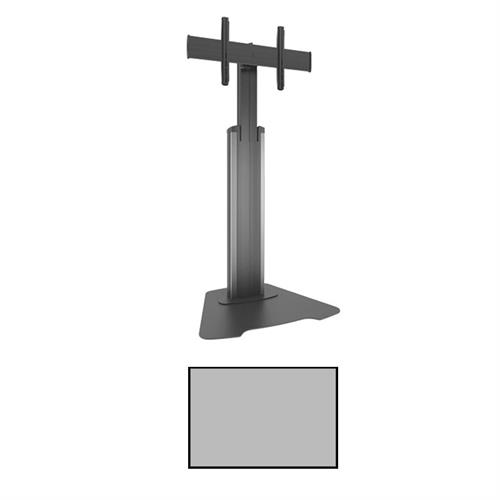 View a larger image of the Chief LFAUS Large FUSION Manual Height Adjustable Silver AV Stand.
