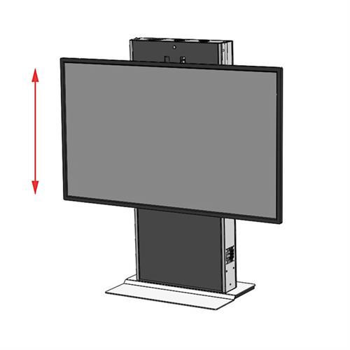 View a larger image of the Audio Visual Furniture LFT7000FS-XL Extra Large Electric Lift Stand.