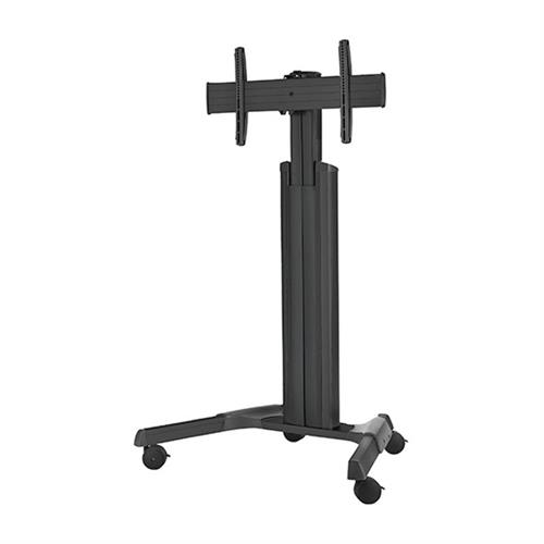 View a larger image of the Chief LPAUB Large FUSION Manual Height Adjustable Black AV Cart.