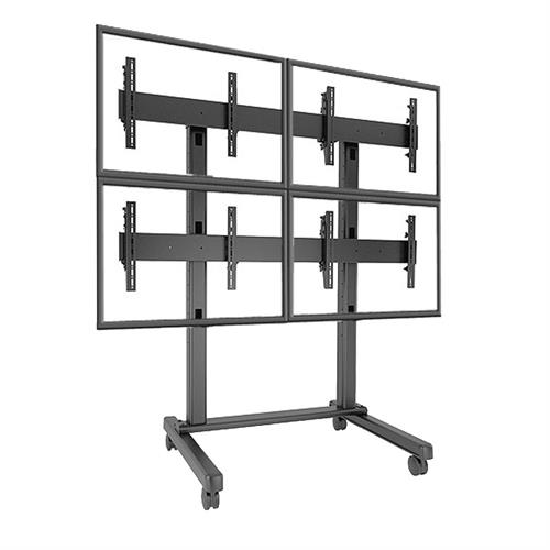 View a larger image of the Chief LVM2X2U FUSION 2x2 Micro Adjustable Video Wall Cart.