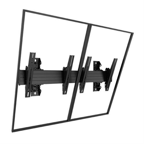 View a larger image of the Chief LWM2X1UP FUSION Large 2x1 Portrait Menu Board Wall Mount.