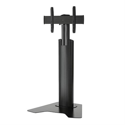 View a larger image of the Chief MFAUB FUSION Medium Manual Height Adjustable Black AV Stand.