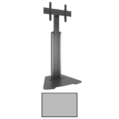 View a larger image of the Chief MFAUS FUSION Medium Manual Height Adjustable Silver AV Stand.