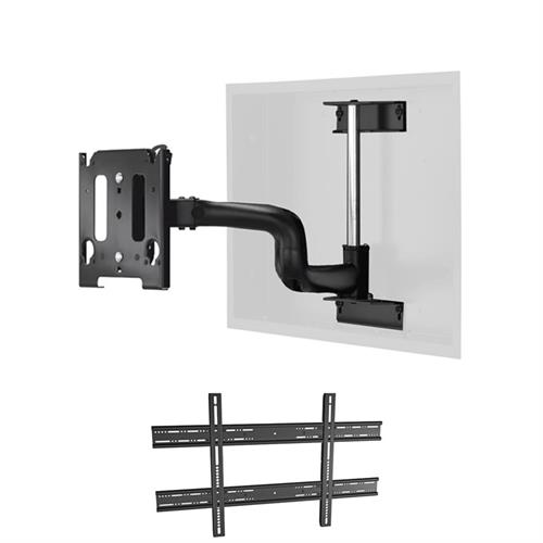 "View a larger image of the Chief MWRIWUB Universal Medium Swing Arm In-Wall Mount (22"" Ext)."