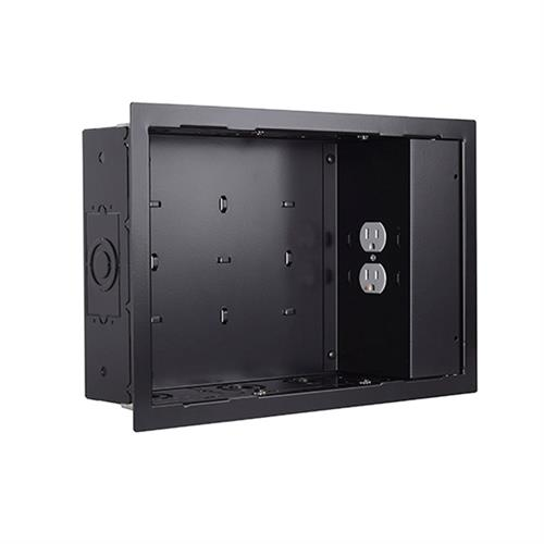 View a larger image of the Chief PAC525FBP2 In-Wall Storage Box 2 Receptacle Filter & Surge.