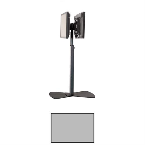 View a larger image of the Chief PF2US Large Silver Universal Dual Flat Panel Floor Stand.