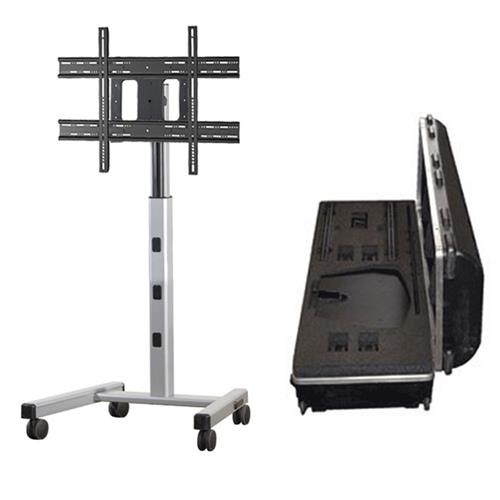 View a larger image of the Chief PFCUS700 Large Silver Flat Panel Cart with Travel Case.