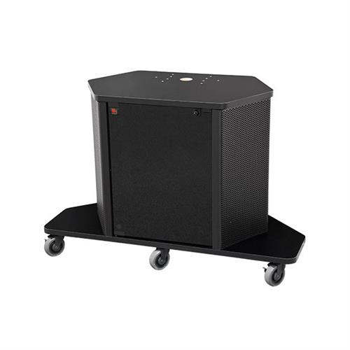 View a larger image of the Audio Visual Furniture PL3070 Monitor Cart (14RU).