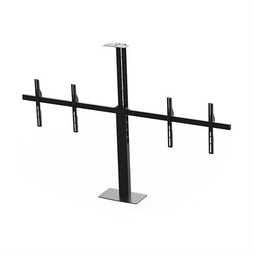 View a larger image of the Audio Visual Furniture PM2-D Dual Display Mount for Large Screens.