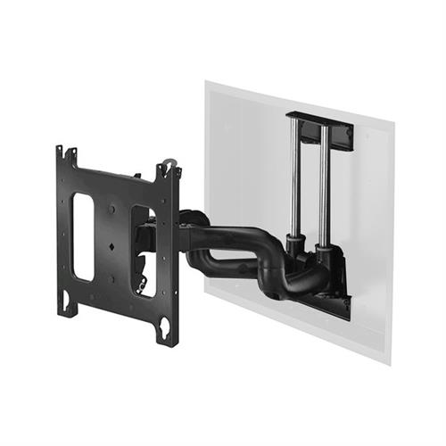 "View a larger image of the Chief PNRIW2000B Dedicated Large Swing Arm In-Wall Mount (22"" Ext)."
