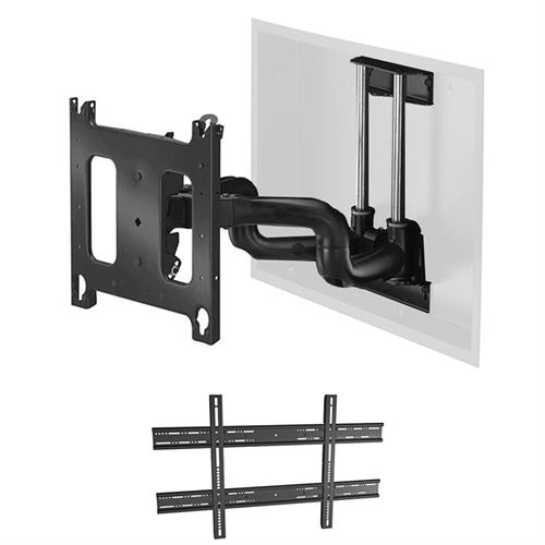 "View a larger image of the Chief PNRIWUB Universal Large Swing Arm In-Wall Mount (22"" Ext)."