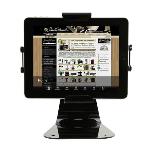 View a larger image of the Peerless PTM400 Black Universal Desktop Tablet Mount.