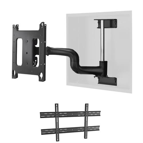 "View a larger image of the Chief PWRIWUB Universal Large Swing Arm In-Wall Mount (22"" Ext)."