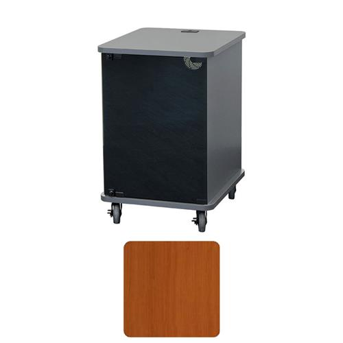 View a larger image of Audio Visual Furniture Deluxe AV Rack (16U, Bartlett Pearwood) RACK-16-BPL.