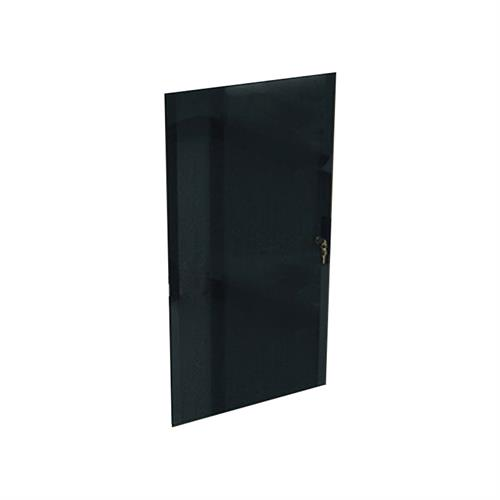 View a larger image of Middle Atlantic Laminate Rack Locking Glass Door (12RU) RK-GD12 here.