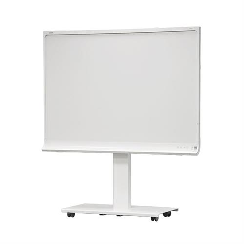 View a larger image of the Audio Visual Furniture SYZ84-K Mobile Stand for SMART kapp 84 Board.