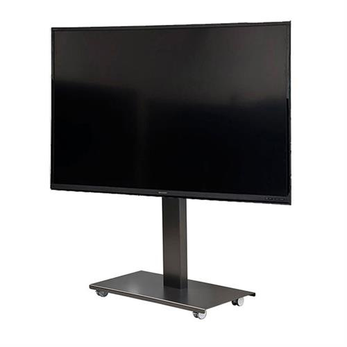 View a larger image of the Audio Visual Furniture SYZ84-XL-B Monitor Cart for XL Screens.