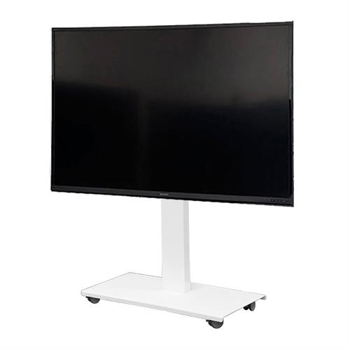View a larger image of the Audio Visual Furniture SYZ84-XL-W Monitor Cart for XL Screens.