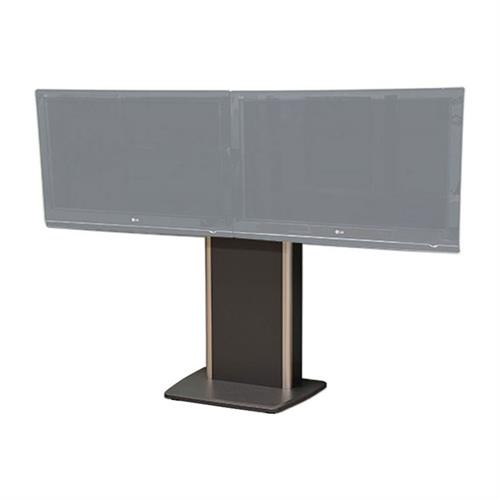View a larger image of Audio Visual Furniture TP800-D Fixed Base Dual Telepresence Stand here.