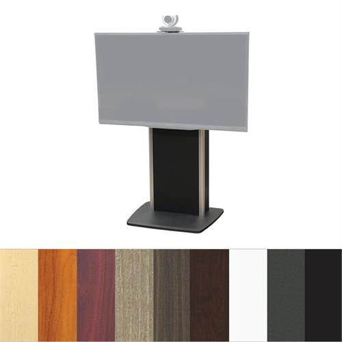 View a larger image of the Audio Visual Furniture TP800-S Large Fixed Base Telepresence Stand.