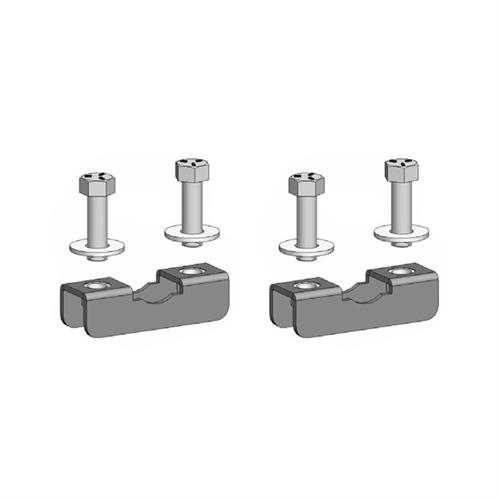 View a larger image of the Chief TPK1 Pole Clamp Kit for 1-2 inch OD (2 Pack).