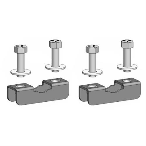 View a larger image of the Chief TPK2 Pole Clamp Kit for 2-3 inch OD (2 Pack).
