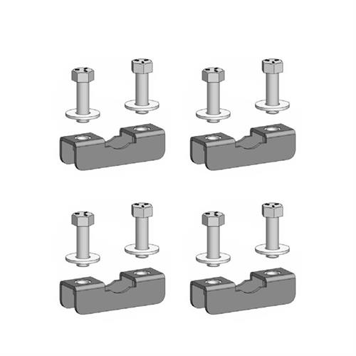 View a larger image of the Chief TPK3 Truss Clamp Kit for 0-1 inch OD (4 Pack).