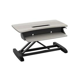 View a large image of the Ergotron Sit-Stand Desk Converter (WorkFit-Z, Mini) 33-458-917 here.